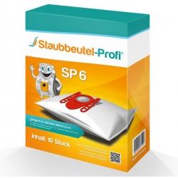 10 Staubsaugerbeutel für Siemens VS06B1110 synchropower  von Staubbeutel-Profi® hier online bestellen.