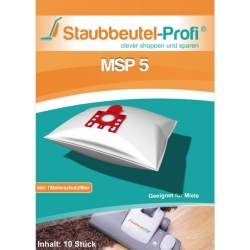 10 Staubsaugerbeutel MSP5 hier online bestellen.