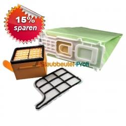Sparset geeignet für Vorwerk Kobold 135/136 14tlg grün
